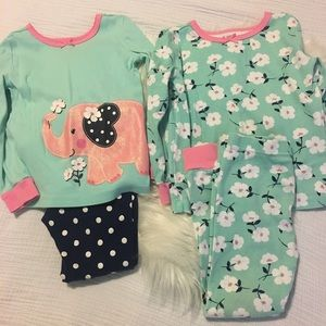 Set of Little Me Pajamas